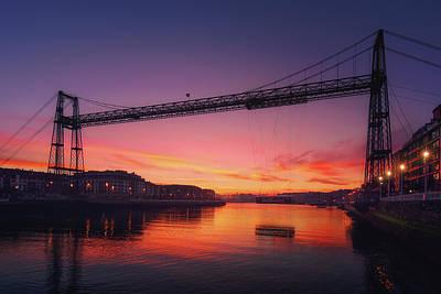 Photograph - Puente Colgante by Mikel Martinez de Osaba