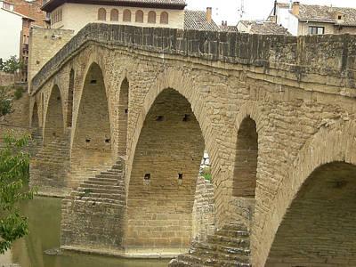 Photograph - Puente La Reina by John Farley
