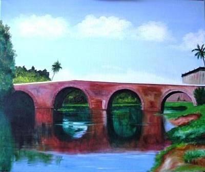 Puente Yayabo Art Print