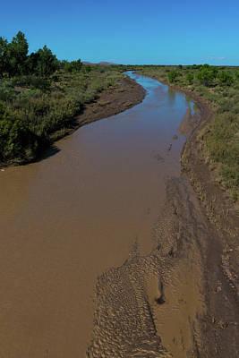 Puerco River Flows Art Print