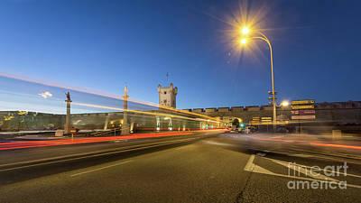 Photograph - Puerta De Tierra Traffic Lights Cadiz Spain by Pablo Avanzini