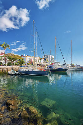 Photograph - Puerto De Mogan by Marc Huebner