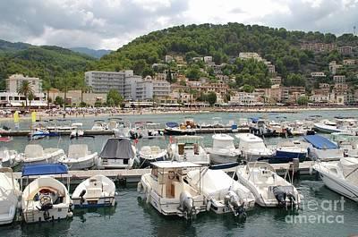 Photograph - Puerto De Soller In Majorca by David Fowler