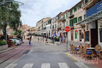 Photograph - Puerto De Soller Old Town by David Fowler