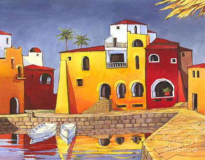 Del Mar Wall Art - Painting - Puerto Del Mar I by Paul Brent