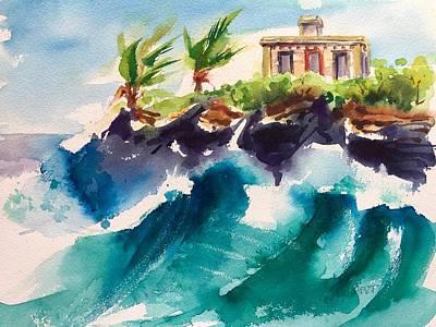 Puerto Rico Painting - Puerto Ferro by Barbara Richert