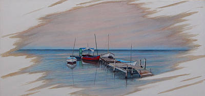 Painting - Puerto Pogreso by Angel Ortiz