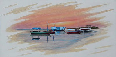 Painting - Puerto Progreso Iv by Angel Ortiz
