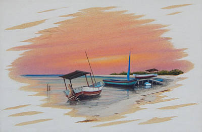 Painting - Puerto Progreso V by Angel Ortiz