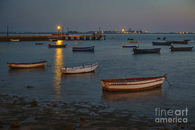 Photograph - Puerto Real's Fishing Port Cadiz Spain by Pablo Avanzini