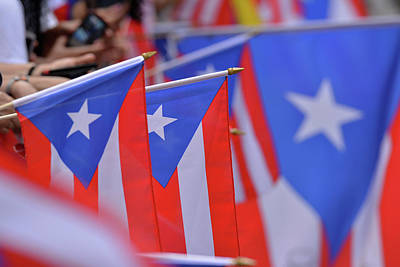 Photograph - Puerto Rican Flag by Ricardo Dominguez