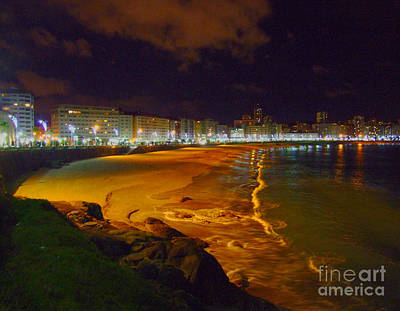 Digital Art - Puerto Rico Beach by Andrew Middleton