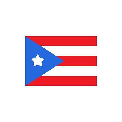 Digital Art - Puerto Rico Flag by Bill Owen
