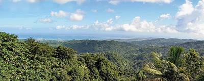 Photograph - Puerto Rico Panorama by Bob Slitzan