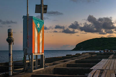 Photograph - Puerto Rico Sunset by Valerie Rosen