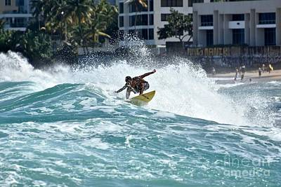 Travel - Puerto Rico surfing by JL Images