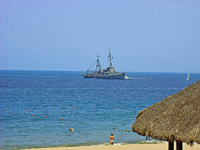 Photograph - Puerto Vallarta Beach Overlord by Robert Meyers-Lussier