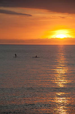 Kayak Photograph - Puerto Vallarta Sunset by Sebastian Musial