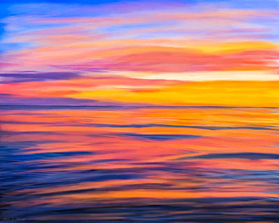 Digital Art - Puesta Del Sol - Rocky Point by Mark E Tisdale