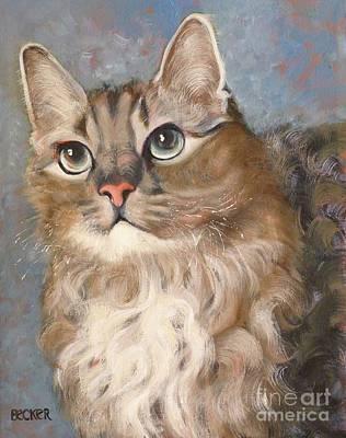 Painting - Puff  Ball by Susan A Becker
