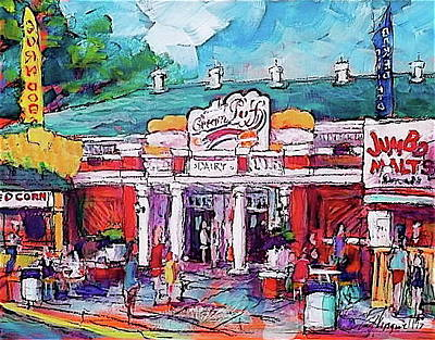 Painting - Puff Palace by Les Leffingwell
