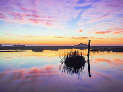 Photograph - Puff The Magic Dragon - Sunrise Sunset Photo Art by Jo Ann Tomaselli