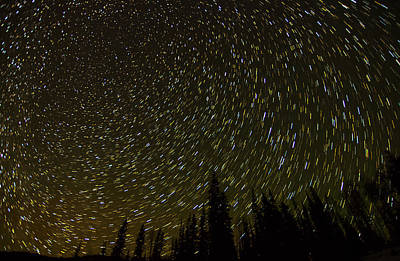 Photograph - Puffer Lake Star Field by Scott Harris