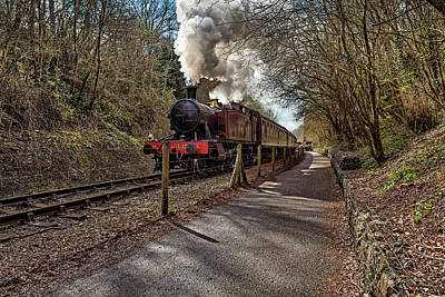 Photograph - Puffing Loco by Stewart Scott