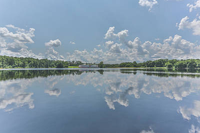 Photograph - Puffy Reflections by Jimmy McDonald
