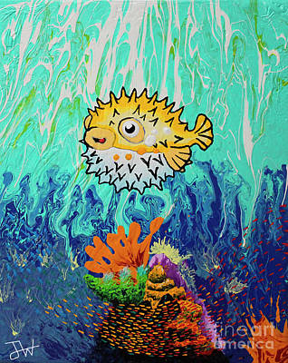 Puffy's Reef Original by Jerome Wilson