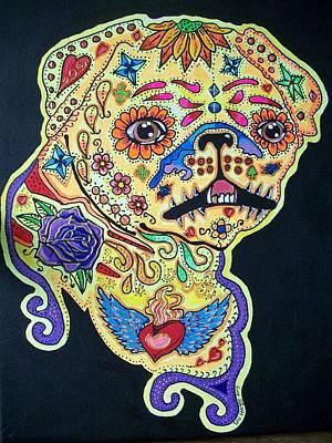 Pug Dog Canvas Art Print