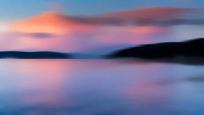 Photograph - Puget Sound Sunset by TL Mair