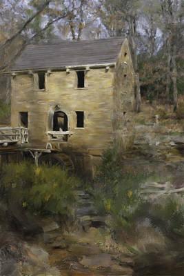 Pugh Mill  Art Print by Renee Skiba