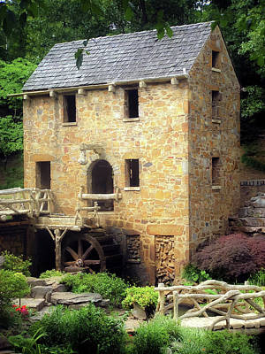 Old Mills Photograph - Pughs Mill - North Little Rock Arkansas by Gregory Ballos