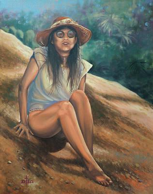 Painting - P.u.h.r. by David Bader