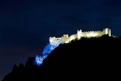 Photograph - Puilaurens Castle by Stephen Taylor