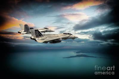Aviation Digital Art - Pukin Dogs by J Biggadike