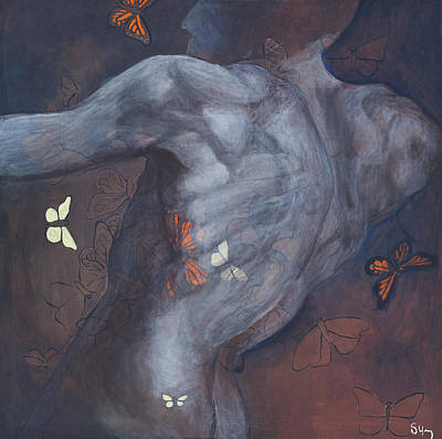 Pilate Painting - Pull by Sara Young