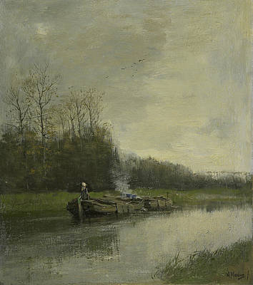 Anton Painting - Pull Speed by Anton Mauve