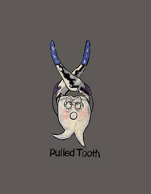 Pulled Tooth Print by Anthony Falbo