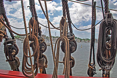 Moet Wall Art - Photograph - Pulley Of The Sea by Jost Houk