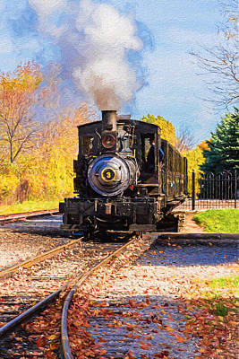 Photograph - Pulling Into The Station by Susan Rissi Tregoning