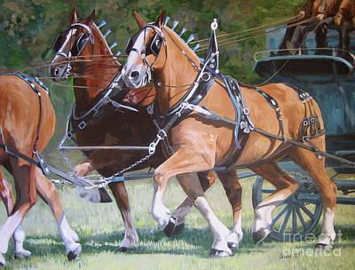 Strength Painting - Pulling Power by Anda Kett