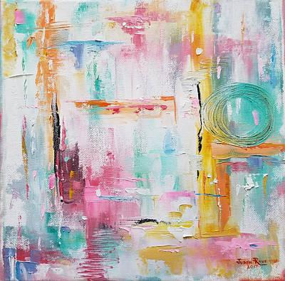 Painting - Pulling Strings by Judith Rhue