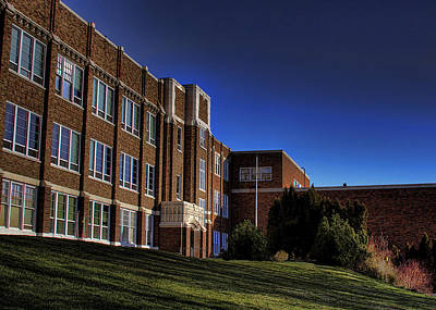 Greyhound Photograph - Pullman High by David Patterson
