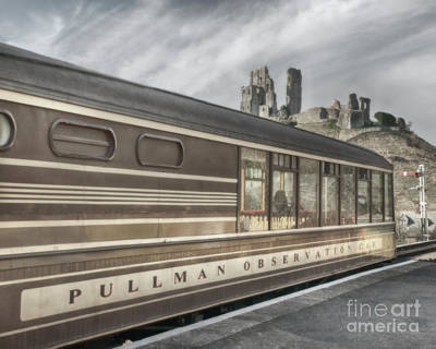 Photograph - Pullman Observation Car by Linsey Williams