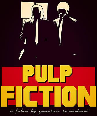 Digital Art - Pulp Fiction by Kyle J West