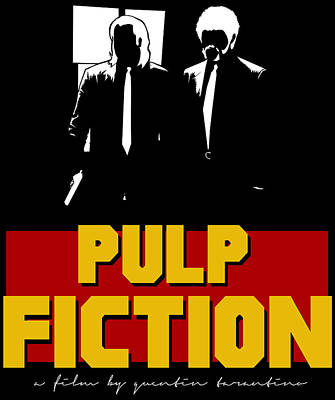 Grindhouse Digital Art - Pulp Fiction by Kyle J West