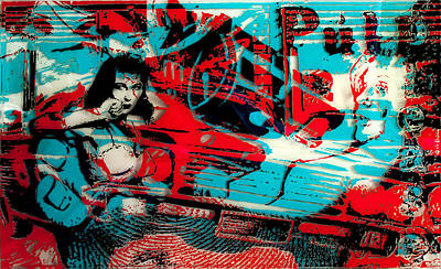 Painting - Pulp Please by Frank Kreacic