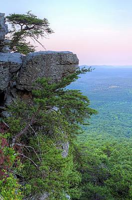 Pulpit Rock Mt Cheaha Art Print by JC Findley